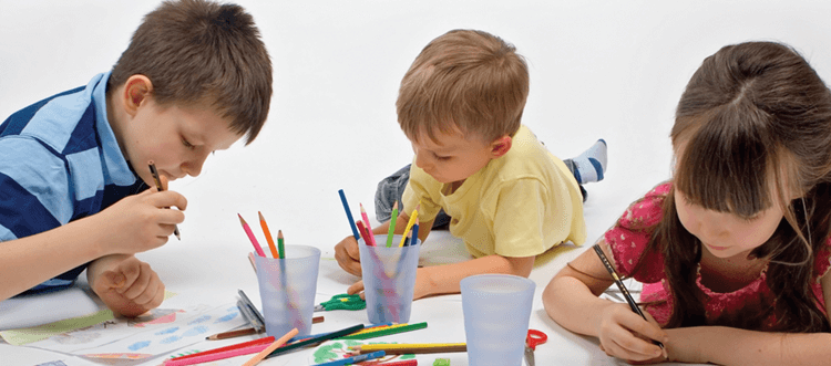 Деца книжки за рисуване
