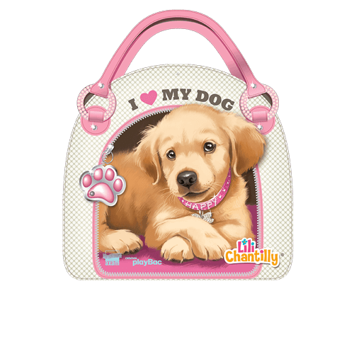 Детска книжка – I Love My Dog, ИК АХАТ